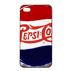 Pepsi Cola Apple Iphone 4/4s Seamless Case (black) by Onesevenart