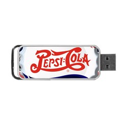 Pepsi Cola Portable Usb Flash (two Sides) by Onesevenart