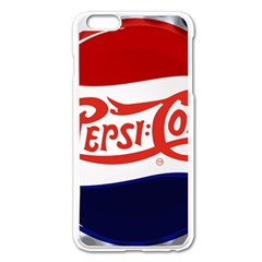 Pepsi Cola Apple Iphone 6 Plus/6s Plus Enamel White Case by Onesevenart
