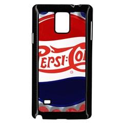 Pepsi Cola Samsung Galaxy Note 4 Case (black) by Onesevenart