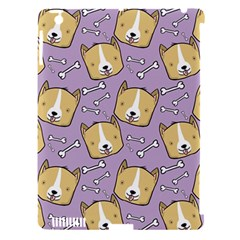 Corgi Pattern Apple Ipad 3/4 Hardshell Case (compatible With Smart Cover) by Onesevenart