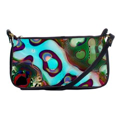 Multiscale Turing Pattern Recursive Coupled Stone Rainbow Shoulder Clutch Bags by Mariart