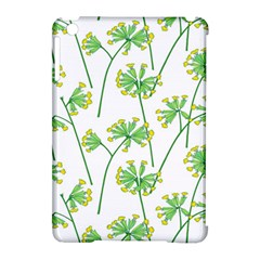 Marimekko Fabric Flower Floral Leaf Apple Ipad Mini Hardshell Case (compatible With Smart Cover) by Mariart
