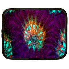 Live Green Brain Goniastrea Underwater Corals Consist Small Netbook Case (xxl)  by Mariart