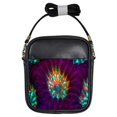 Live Green Brain Goniastrea Underwater Corals Consist Small Girls Sling Bags by Mariart