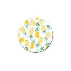 Pineapple Fruite Seamless Pattern Golf Ball Marker (4 Pack) by Mariart