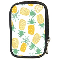 Pineapple Fruite Seamless Pattern Compact Camera Cases by Mariart