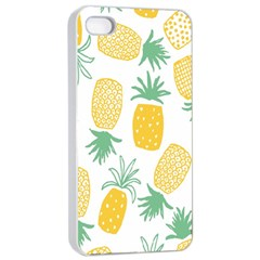 Pineapple Fruite Seamless Pattern Apple Iphone 4/4s Seamless Case (white) by Mariart