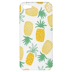 Pineapple Fruite Seamless Pattern Apple Iphone 5 Hardshell Case by Mariart