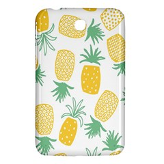 Pineapple Fruite Seamless Pattern Samsung Galaxy Tab 3 (7 ) P3200 Hardshell Case  by Mariart