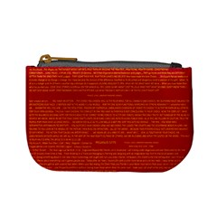Mrtacpans Writing Grace Mini Coin Purses by MRTACPANS