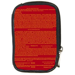 Mrtacpans Writing Grace Compact Camera Cases by MRTACPANS