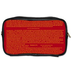 Mrtacpans Writing Grace Toiletries Bags 2 Side by MRTACPANS