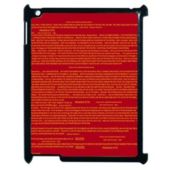 Mrtacpans Writing Grace Apple Ipad 2 Case (black) by MRTACPANS