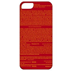 Mrtacpans Writing Grace Apple Iphone 5 Classic Hardshell Case by MRTACPANS