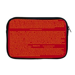Mrtacpans Writing Grace Apple Macbook Pro 17  Zipper Case by MRTACPANS