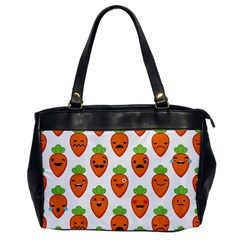 Seamless Background Carrots Emotions Illustration Face Smile Cry Cute Orange Office Handbags by Mariart