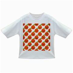 Seamless Background Orange Emotions Illustration Face Smile  Mask Fruits Infant/toddler T Shirts by Mariart