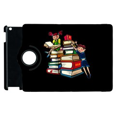 Back To School Apple Ipad 2 Flip 360 Case by Valentinaart