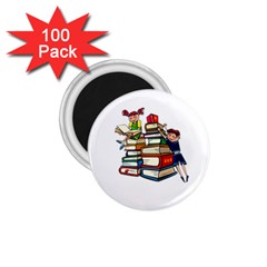 Back To School 1 75  Magnets (100 Pack)  by Valentinaart