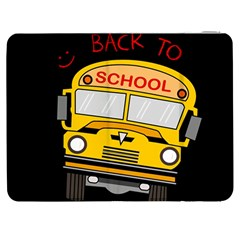 Back To School   School Bus Samsung Galaxy Tab 7  P1000 Flip Case by Valentinaart