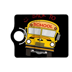Back To School   School Bus Kindle Fire Hd (2013) Flip 360 Case by Valentinaart