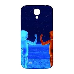 Space Boys  Samsung Galaxy S4 I9500/i9505  Hardshell Back Case by Valentinaart