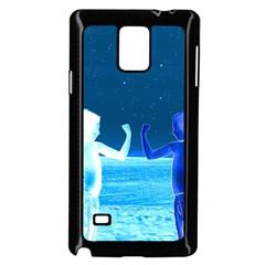 Space Boys  Samsung Galaxy Note 4 Case (black) by Valentinaart