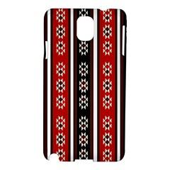 Folklore Pattern Samsung Galaxy Note 3 N9005 Hardshell Case by Valentinaart