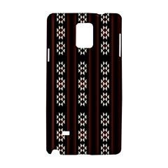 Folklore Pattern Samsung Galaxy Note 4 Hardshell Case by Valentinaart