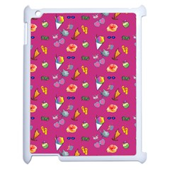 Aloha   Summer Fun 1b Apple Ipad 2 Case (white) by MoreColorsinLife
