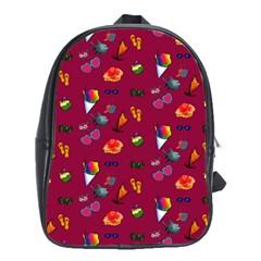 Aloha   Summer Fun 1c School Bag (xl) by MoreColorsinLife
