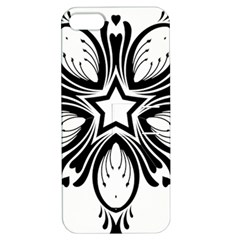 Star Sunflower Flower Floral Black Apple Iphone 5 Hardshell Case With Stand by Mariart