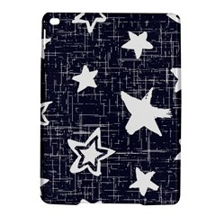 Star Space Line Blue Art Cute Kids Ipad Air 2 Hardshell Cases by Mariart