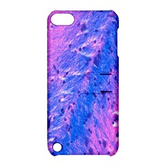 The Luxol Fast Blue Myelin Stain Apple Ipod Touch 5 Hardshell Case With Stand by Mariart