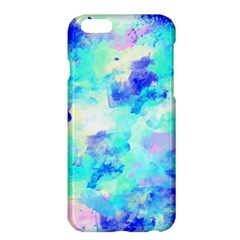 Transparent Colorful Rainbow Blue Paint Sky Apple Iphone 6 Plus/6s Plus Hardshell Case by Mariart