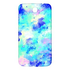 Transparent Colorful Rainbow Blue Paint Sky Samsung Galaxy Mega I9200 Hardshell Back Case by Mariart