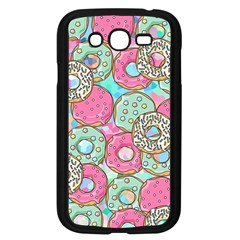 Donuts Pattern Samsung Galaxy Grand Duos I9082 Case (black) by ValentinaDesign