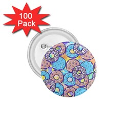 Donuts Pattern 1 75  Buttons (100 Pack)  by ValentinaDesign