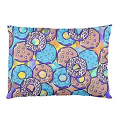 Donuts Pattern Pillow Case by ValentinaDesign