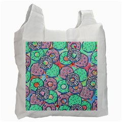 Donuts Pattern Recycle Bag (one Side) by ValentinaDesign