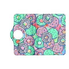 Donuts Pattern Kindle Fire Hd (2013) Flip 360 Case by ValentinaDesign