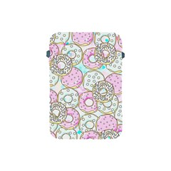 Donuts Pattern Apple Ipad Mini Protective Soft Cases by ValentinaDesign