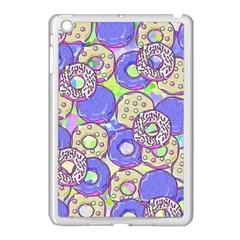 Donuts Pattern Apple Ipad Mini Case (white) by ValentinaDesign