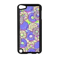 Donuts Pattern Apple Ipod Touch 5 Case (black) by ValentinaDesign
