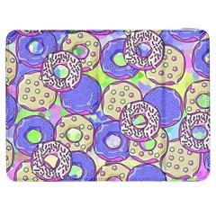 Donuts Pattern Samsung Galaxy Tab 7  P1000 Flip Case by ValentinaDesign