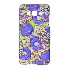 Donuts Pattern Samsung Galaxy A5 Hardshell Case  by ValentinaDesign