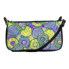 Donuts Pattern Shoulder Clutch Bags by ValentinaDesign