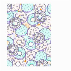 Donuts Pattern Large Garden Flag (two Sides) by ValentinaDesign