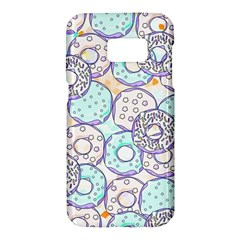 Donuts Pattern Samsung Galaxy S7 Hardshell Case  by ValentinaDesign